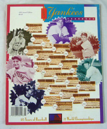 New York Yankees Authentic Official 1994 Program Yearbook