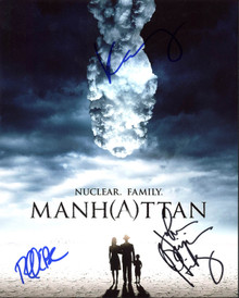 Manhattan Cast (3) Hickey, Brosnahan & Herbers Signed 8X10 Photo PSA/DNA #Y06766