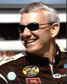 NASCAR Dale Jarrett Authentic Signed 8X10 Photo PSA/DNA #AA81109