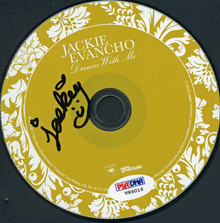 Jackie Evancho Authentic Signed Dream With Me Cd Autographed PSA/DNA #V86016