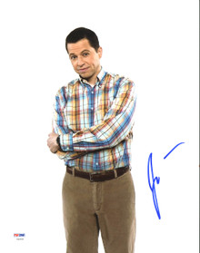 Jon Cryer Two and a Half Men Authentic Signed 11X14 Photo PSA/DNA #Z90299