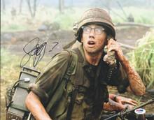Jay Baruchel Tropic Thunder Signed Authentic 11X14 Photo PSA/DNA #U72194