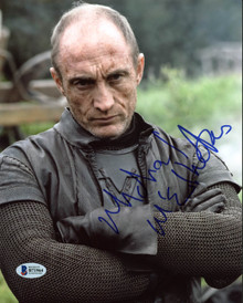 Michael McElhatton Game Of Thrones Authentic Signed 8X10 Photo BAS #B71964