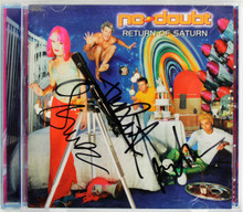 No Doubt (3) Stefani, Kanal, & Dumont Signed CD Insert W/ Disc BAS #A05161