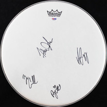 Alabama Shakes- Howard Cockrell Fogg & Johnson Signed 15 In. Drumhead PSA T03832