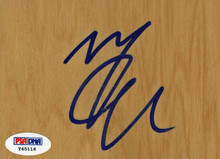 Heat Mario Chalmers Authentic Signed 3.5x5 Floorboard PSA/DNA #Y45116