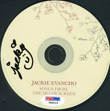 Jackie Evancho Authentic Signed Songs From The Silver Screen Cd PSA/DNA #V86019