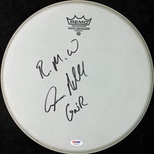 Steven Adler Guns N' Roses Authentic Signed 13 Inch Drumhead PSA/DNA #W46435