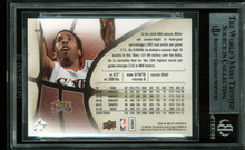 76ers Andre Miller Authentic Signed Card 2008 SP Authentic #50 BAS Slabbed