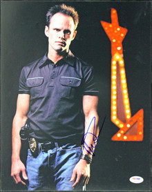 Walton Goggins Justified Signed Authentic 11X14 Photo PSA/DNA #T50692