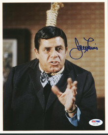 Jerry Lewis Signed Authentic 8X10 Photo Autographed PSA/DNA #U65788