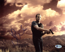 Kiefer Sutherland 24 Authentic Signed 8X10 Photo Autographed BAS #C57337