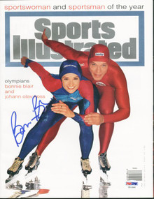 Bonnie Blair Authentic Signed Sports Illustrated 1994 PSA/DNA #U51380