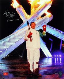 """Wayne Gretzky """"Canada 2010"""" Signed 16X20 Photo LE #24/199 Gretzky Holo #105311"""