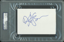 Kristy Swanson Authentic Signed 4x6 Index Card Autographed PSA/DNA Slabbed 2