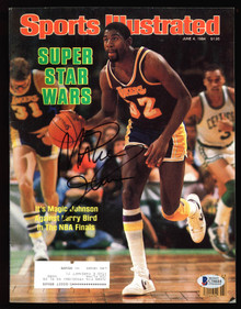 Lakers Magic Johnson Authentic Signed 1984 Sports Illustrated BAS #C54688