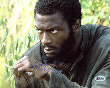 Aldis Hodge Underground Authentic Signed 8X10 Photo Autographed BAS #B71991