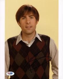 Jason Schwartzman Rushmore Signed Authentic 8X10 Photo PSA/DNA #X44454