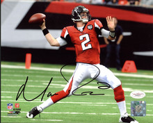 Falcons Matt Ryan Authentic Signed 8X10 Photo Autographed JSA #E90410