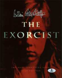 William Peter Blatty The Exorcist Authentic Signed 8X10 Photo BAS #B03771