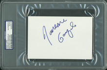 Janeane Garafolo Authentic Signed 4x6 Index Card Autographed PSA/DNA Slabbed 2