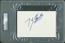 Harry Hamlin Authentic Signed 4x6 Index Card Autographed PSA/DNA Slabbed 3