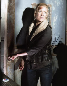 """Laurie Holden """"Andrea"""" Walking Dead Signed Authentic 11X14 Photo PSA/DNA #W79895"""