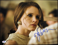 Jessica Chastain The Help Signed Authentic 11X14 Photo Autograph PSA/DNA #S85983