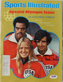 Frank Shorter Olympics Authentic Signed Sports Illustrated 1976 PSA/DNA #Q12371