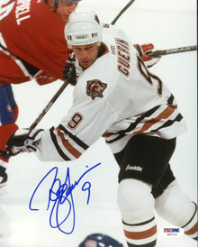 Oilers Bill Guerin Signed Authentic 8X10 Photo Autographed PSA/DNA #Z57112