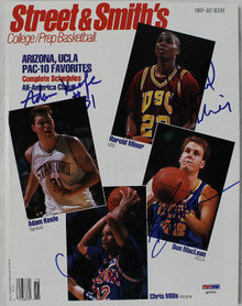 Keefe Miner Maclean & Mills Authentic Signed 1992 Magazine PSA/DNA #Q12331