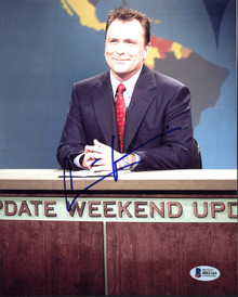 Colin Quinn Weekend Update SNL Authentic Signed 8X10 Photo BAS #B81165