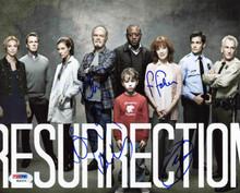Resurrection Cast (4) Epps, Fisher, Smith & Kelley Signed 8X10 Photo PSA #W04376