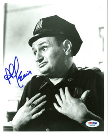 Al Lewis Car 54, Where Are You? Authentic Signed 8X10 Photo PSA/DNA #AA47839