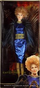 Elizabeth Banks Signed The Hunger Games Effie Barbie Collector Doll BAS #D07103