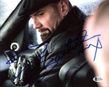"Dave Bautista Spectre ""Hinx"" Authentic Signed 8x10 Photo Autographed BAS #C63666"