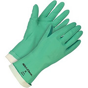 Memphis Nitri-Chem Flock Lined Nitrile Gloves