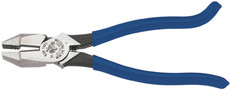 Klein Ironworker's Plastic Dipped Handle - High Leverage Pliers (D213-9ST)