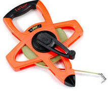 Lufkin Hi-Viz Orange Open Reel Linear Fiberglass Combination Tape