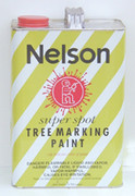 Nelson Super Spot Tree Marking Paint - Gallon Sized Can