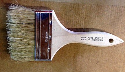 Paint Brush for use with Boundary Marking Paint from CSP Outdoors