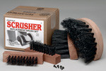 Deluxe Scrusher Shoe/Boot Cleaner: Replacement Brushes