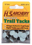 White Reflective Trail Marker Tacks