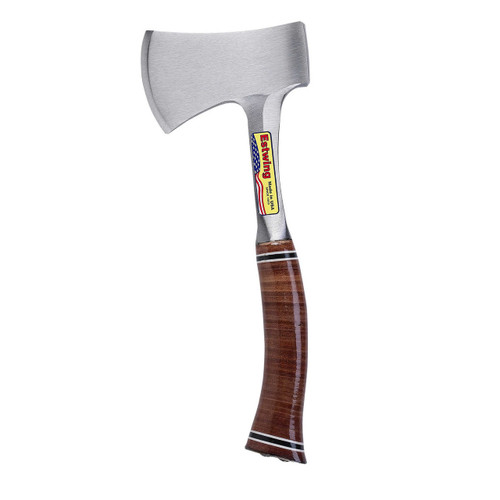 "Estwing 14"" Sportsman's Axe - Leather Grip"