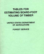 Tables for Estimating Board-Foot of Timber Book from CSP Outdoors.