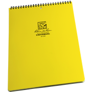 """#185 Rite in the Rain Universal Top Spiral Notebook 8.5"""" x 11"""" - 84 pages (42 sheets)"""