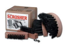 Original Scrusher Shoe/Boot Cleaner: Replacement Brushes