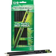 Dixon Ticonderoga Black No. 2 Pencil (13953)