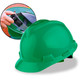 MSA Cap Style Hard Hats with Fas-Trac Ratchet Suspension - Green 475362
