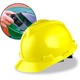 MSA Cap Style Hard Hats with Fas-Trac Ratchet Suspension - Yellow 475360